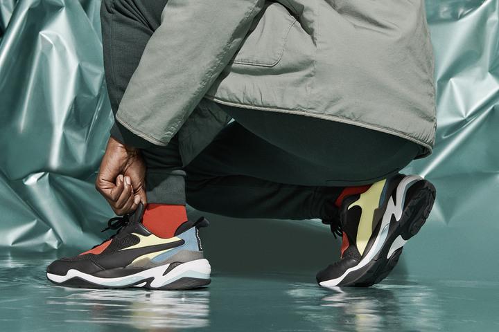 一元起標 全新Puma Thunder Spectra氣墊 時尚老爹鞋 尺寸us9/27cm