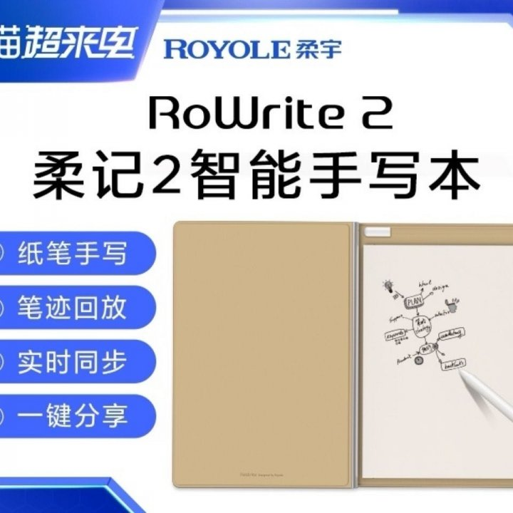 RoWrite 2 柔記2智能手寫板