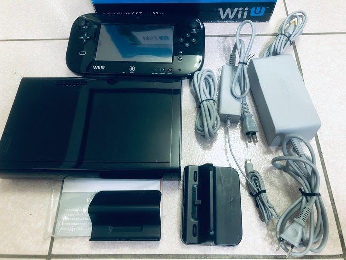 超便宜WIIU主機32G日版.可改機版本.盒裝,可玩WII及wiiu的遊戲,非常稀少.保證品質.保固一個月!