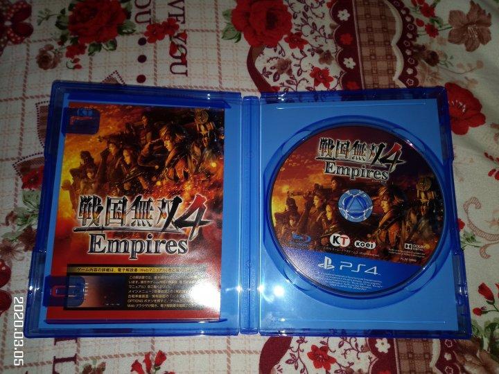 PS4 戰國無雙4帝王傳 日版