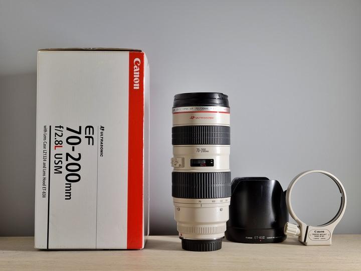 九成新公司貨 CANON EF 70-200mm F2.8L 小白 UZ (無is)