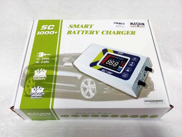 全新免運 麻新電子 MASHIN SC-1000+ 智慧型 鉛酸/鋰鐵電池 雙模充電器