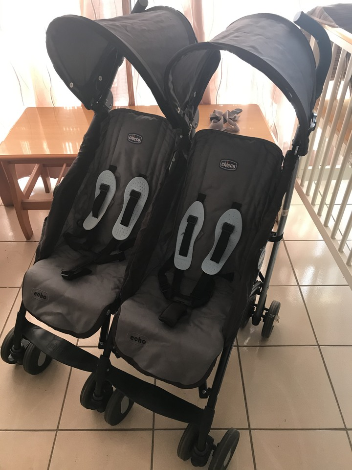 CHICCO雙人嬰幼兒推車