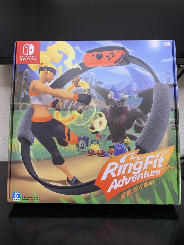 Switch遊戲 健身環大冒險 中文版 全新未拆現貨