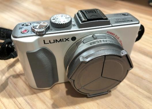 售Panasonic LX5白色(萊卡,大光圈)