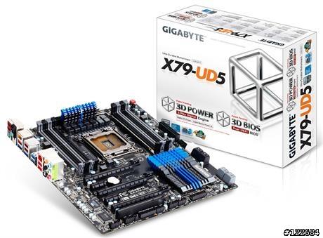 GA-X79-UD5 + CPU-I3930K + 金士頓DDR3 4GBX4條