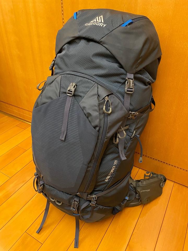 GREGORY  BALTORO 75L 登山背包(SIZE:S) 附Naturehike Tagar 2 雙人帳篷