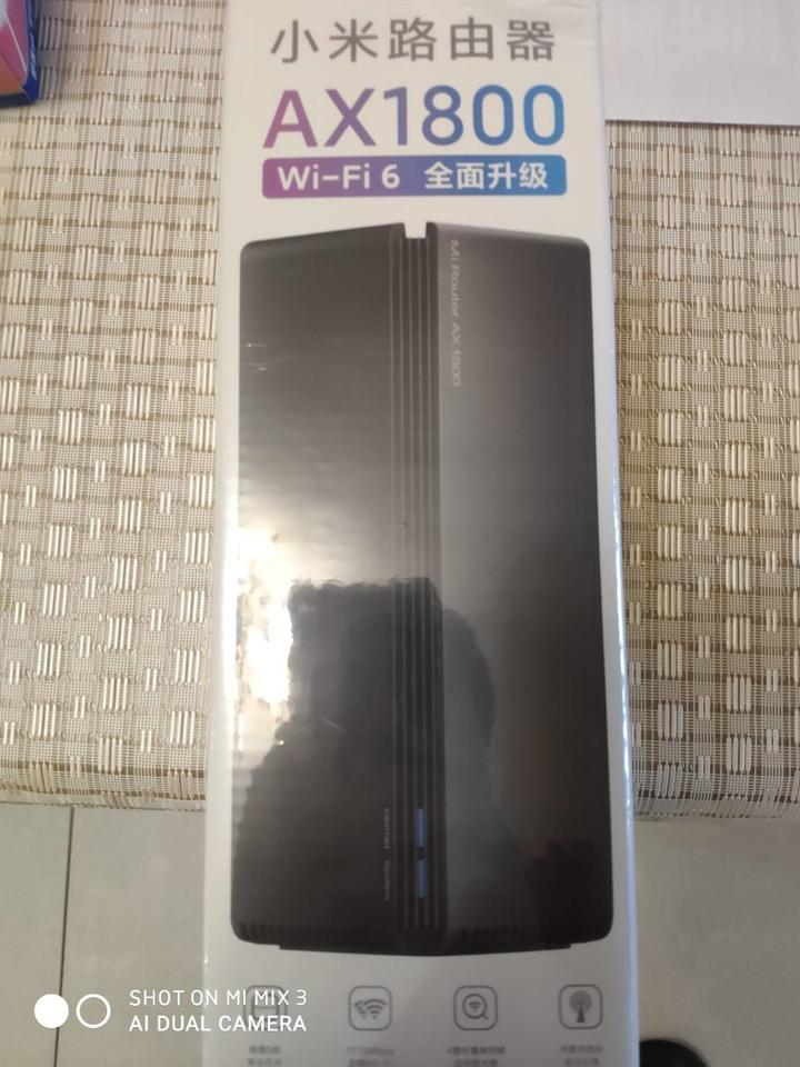 小米路由器 AX1800 wifi6 分享器