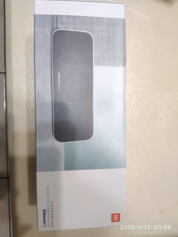 小米無線充藍芽音箱