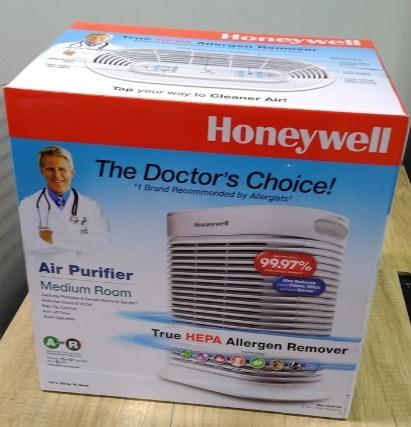 美國Honeywell抗敏系列空氣清淨機(HPA-100APTW)--公司貨全新未拆.---價錢可議