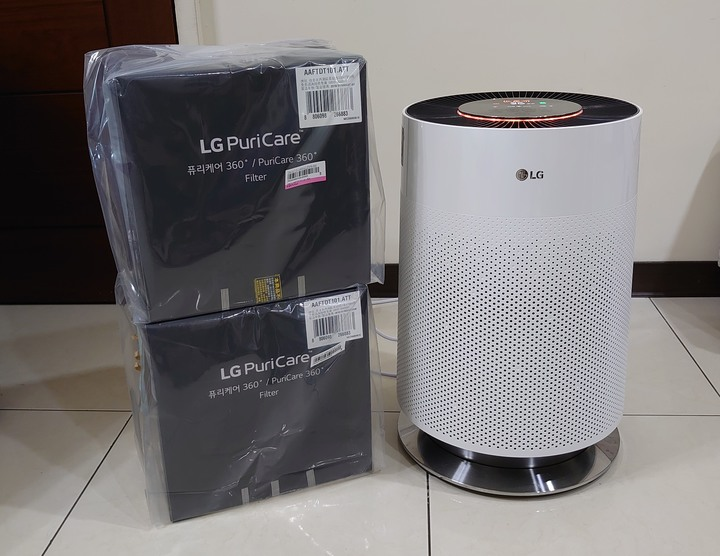 LG-PuriCare™ 360°空氣清淨機 AS551DWS0