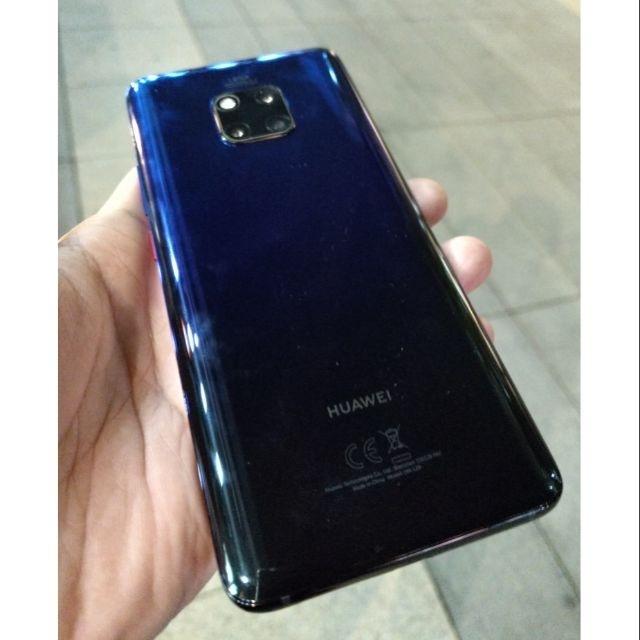 [售] 二手 華為 Huawei Mate20 Pro 極光色 台哥大保固中