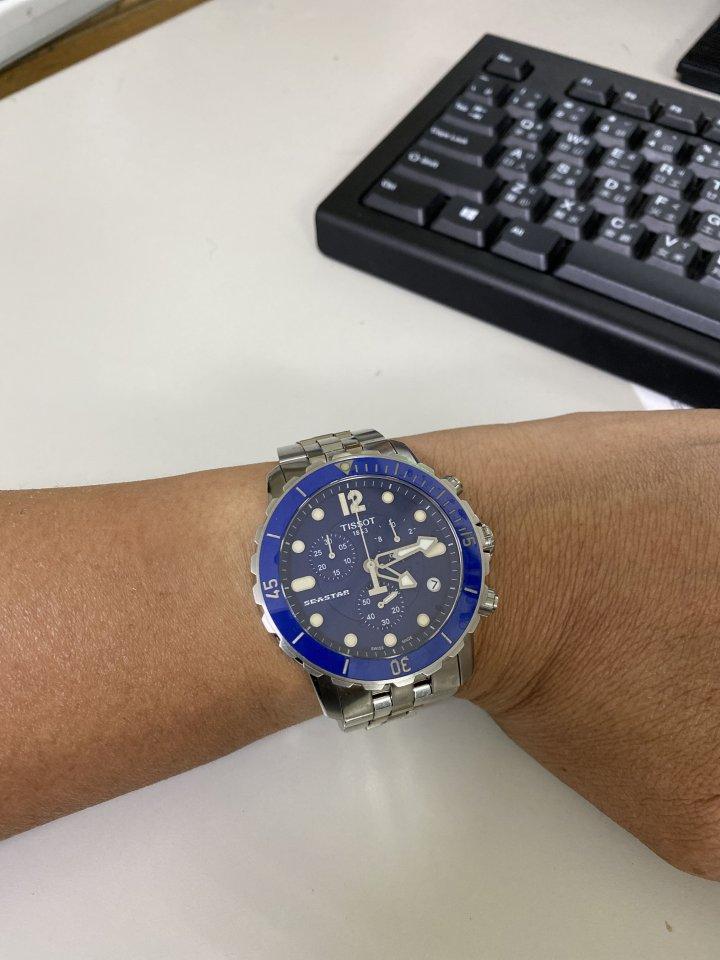 天梭海洋之星石英錶