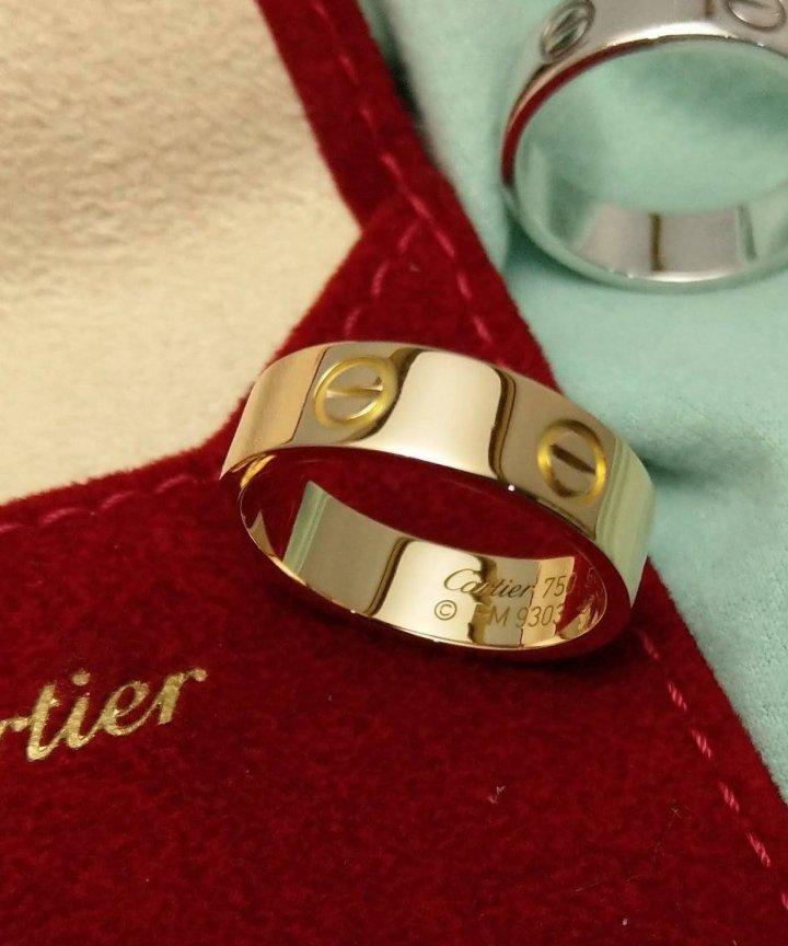 Cartier  卡地亞  玫瑰金 戒指