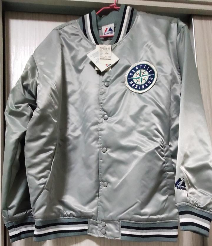 全新 大聯盟水手隊鋪棉外套 L號