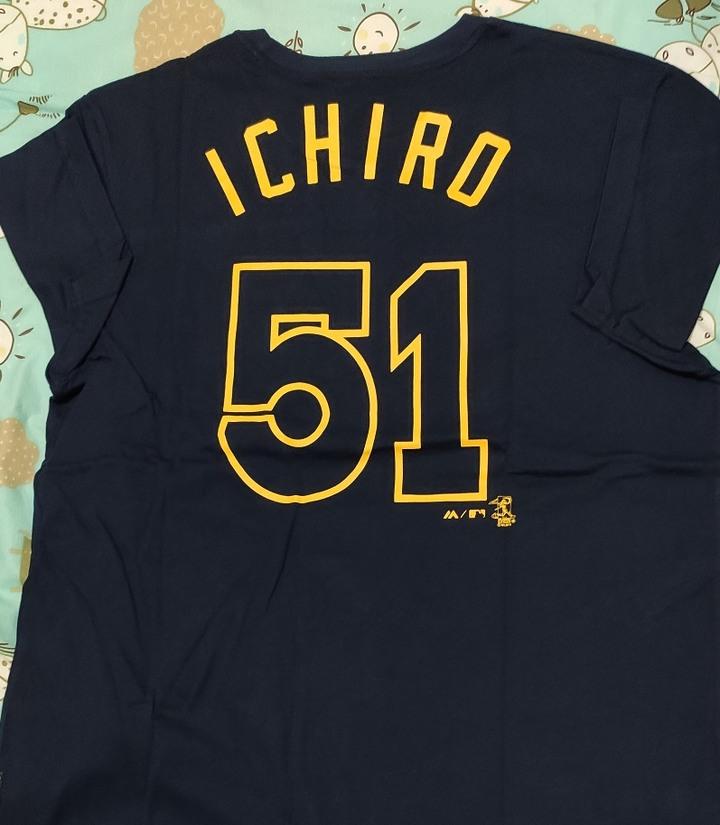 全新 MLB ICHIRO 鈴木一朗 L號 T恤