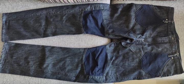 EDWIN 愛德恩 原色藍 3D褲 W33腰