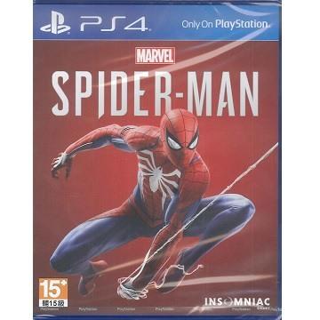 PS4 漫威蜘蛛人 中文版