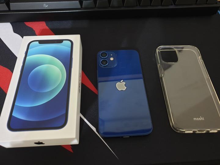 iphone 12 mini 64G(藍)保固到2022/6/15