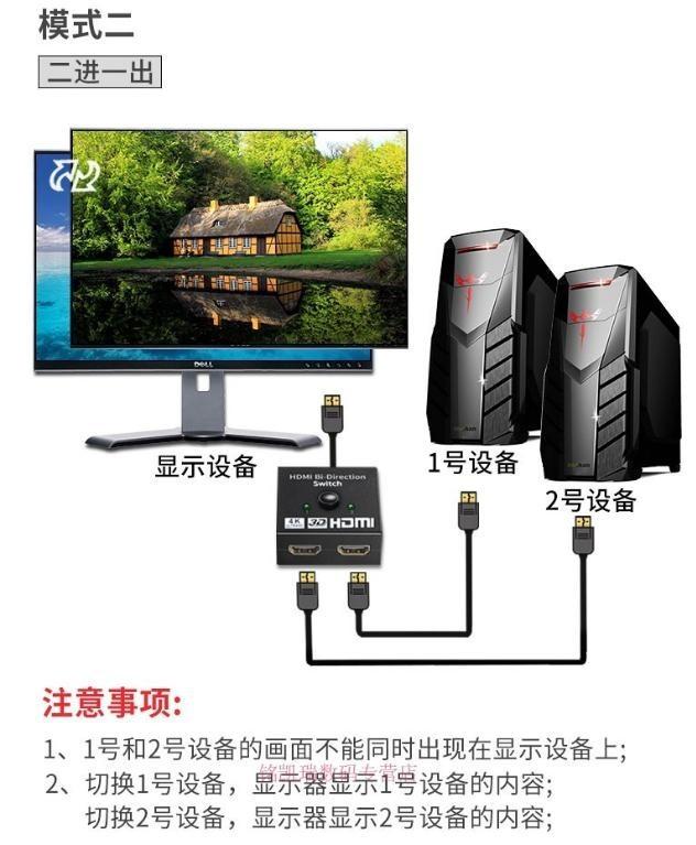 HDMI雙向切換器