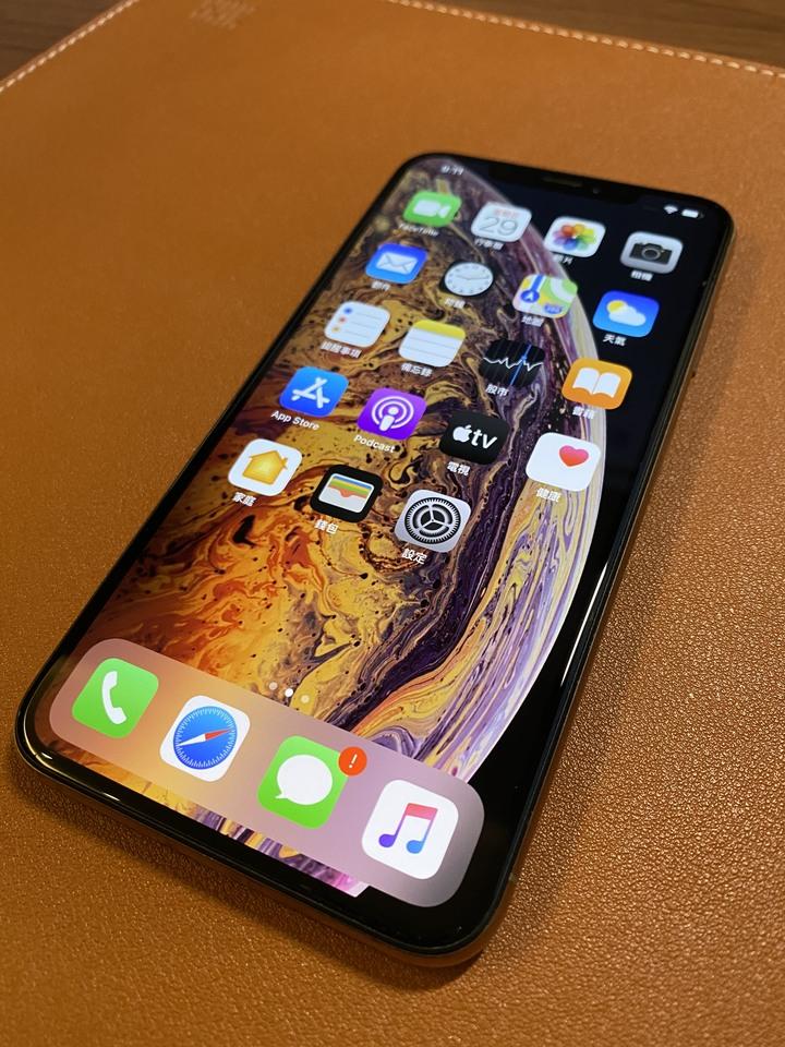 iPhone Xs Max 256G, 金色, 電池健康度93%