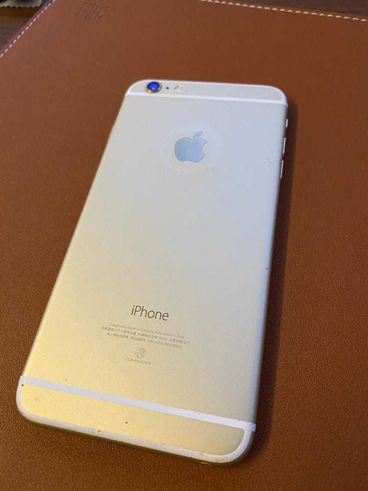 iPhone 6 Plus, 64G, 電池健康度89%