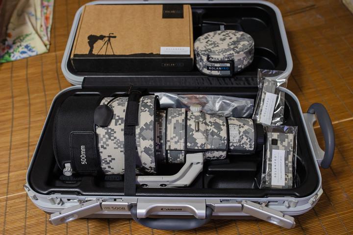 Canon EF 500mm f4 L II IS USM(無單過保水貨)