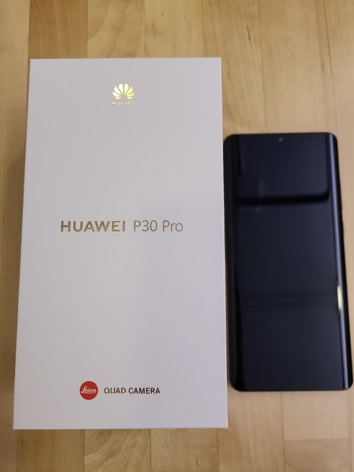 新北市土城 華為HUAWEI P30 Pro 256G+256G黑色 2年保固