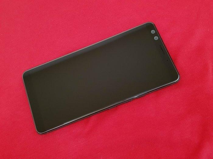 聯翔通訊 透明藍 HTC U12+ 64G 台灣HTC保固2020/12 原廠盒裝 ※換機優先