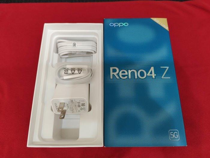 ※聯翔通訊 白色 神腦保固2021/11/29 OPPO Reno4Z Reno4 Z 原廠盒裝 ※換機優先
