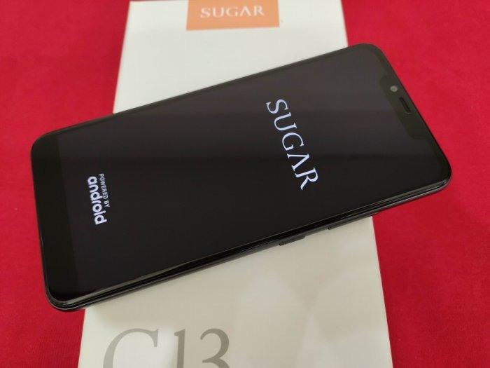 聯翔通訊 灰色 SUGAR C13 台灣原廠過保2020/5/25 二手機 原廠盒裝※換機優先