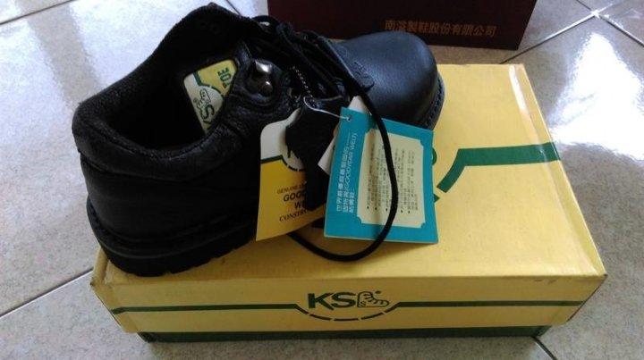 擎天鋼 安全鞋 工作鞋 US7.5號 25.5cm 黑色(高雄可面交)