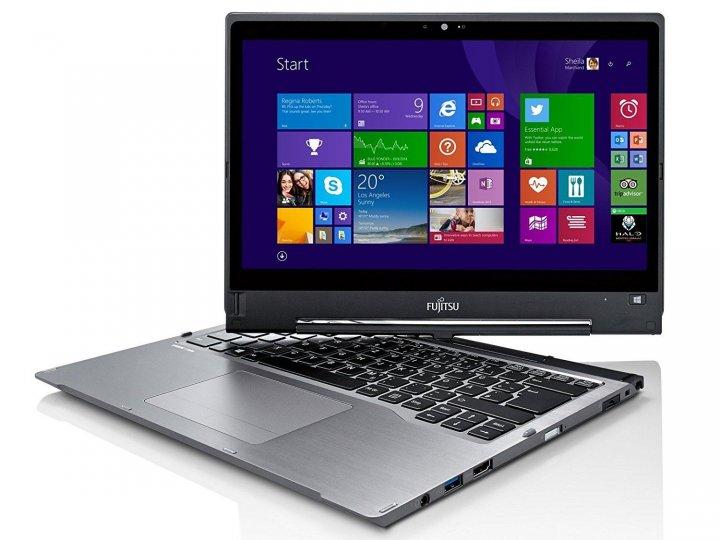 Fujitsu T904,觸控13吋QHD、i5、8GB RAM、525 SSD、視訊、藍牙、指紋、ATM、繪圖筆、擴展底座、電池 x2