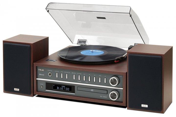 TEAC LP-P1000-CH,黑膠唱盤、Wi-Fi、藍牙/ CD /收音機、50W 大功率音響系統
