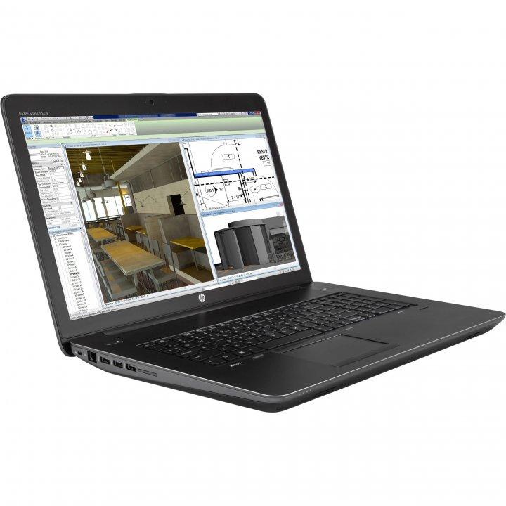 HP ZBook 17G3工作站,FHD、i7-6820、4G繪圖卡、16GB RAM、1TB SSD x2 + 500GB HDD x2、視訊、ATM智慧卡、背光鍵盤、藍牙
