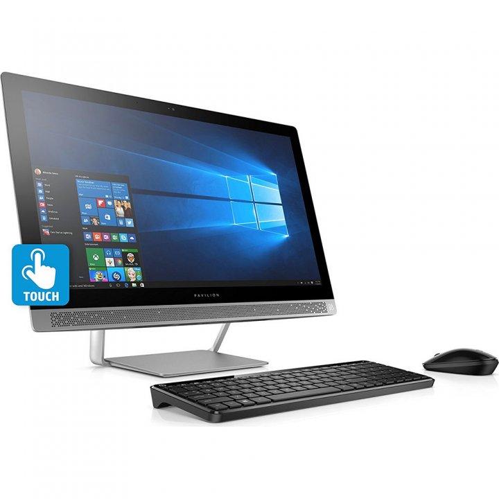 HP Pavilion 觸控24吋FHD、AMD A9、4G繪圖卡、16G、1TB SSD、視訊、藍牙、無線鍵鼠、DVD