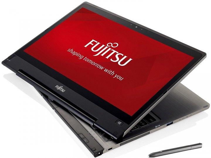 Fujitsu T904,觸控13吋QHD、i5、8G、1TB SSD、視訊、藍牙、指紋、ATM、繪圖筆、擴展底座