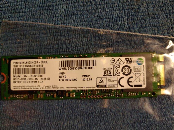 SATA 3 M.2-2280 128GB SSD固態硬碟