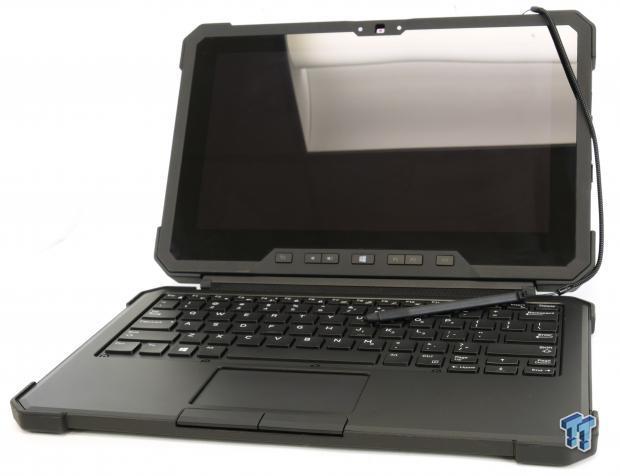 Dell 7202 Rugged、觸控螢幕+站立架+USB擴展座、M5Y71、8G、256G、視訊藍牙、鍵盤LTE筆、雙電池-DEMO