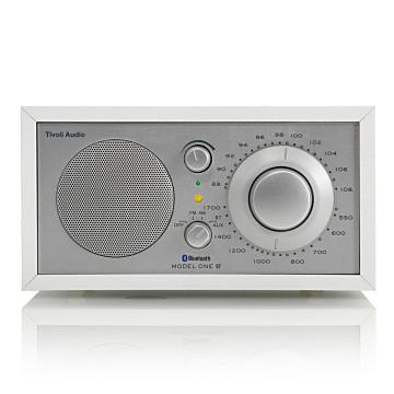 Tivoli Audio - Model One BT AM/FM 藍牙喇叭收音機、白木紋 / 銀色