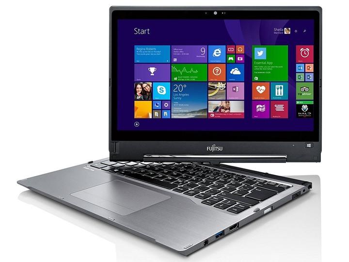 Fujitsu T904,13吋QHD觸控、i7、8G、1T SSD、視訊、指紋、ATM、手寫筆、擴展底座