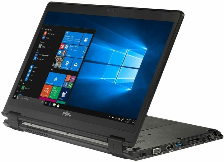 Fujitsu LIFEBOOK P728、觸控12.5寸、i5-8250U、16GB RAM、1TB SSD、視訊、指紋、背光鍵盤、手寫筆 - 展示品
