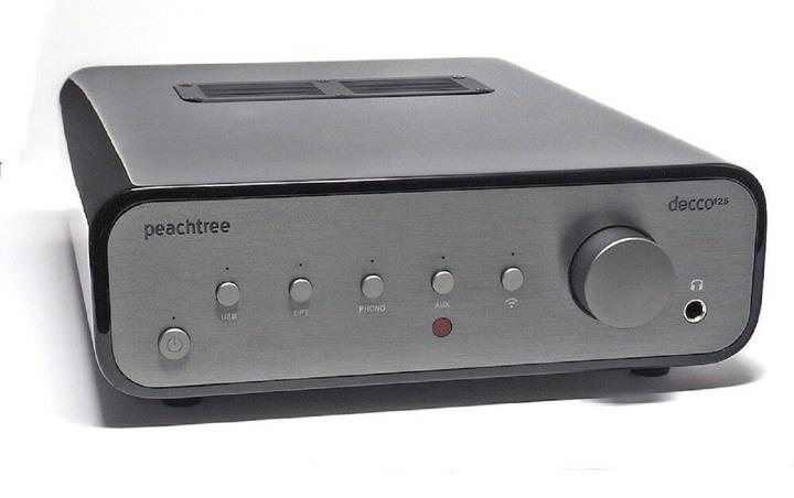 Peachtree Audio Decco125 SKY無線串流綜合擴大機 - 內建數位類比DAC解碼器 - 鋼琴烤漆黑