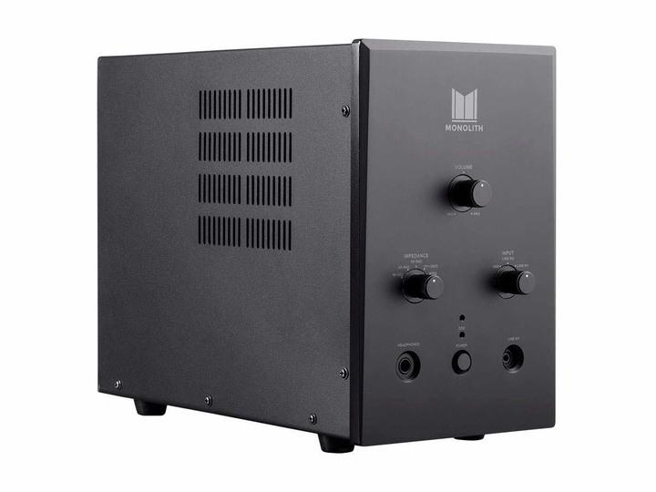 Monolith 3 x真空管 + ESS ES9018 晶片,DSD解碼,耳擴 DAC - 黑色
