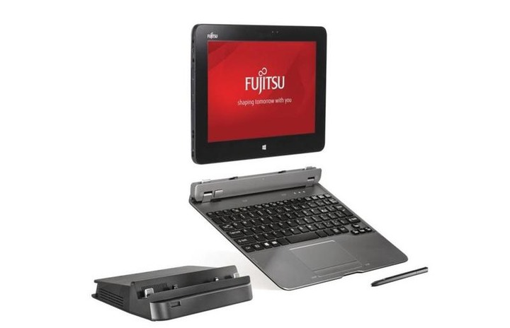 Fujitsu STYLISTIC Q775、13.3吋觸控平板,i5、8GB RAM、500GB SSD、視訊、指紋、藍牙、手寫筆、鍵盤 + 擴展底座