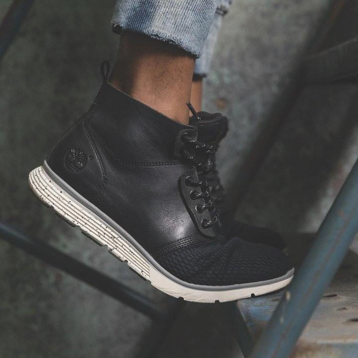 競標 Timberland Killington Chukka 黑色休閒運動靴 US9