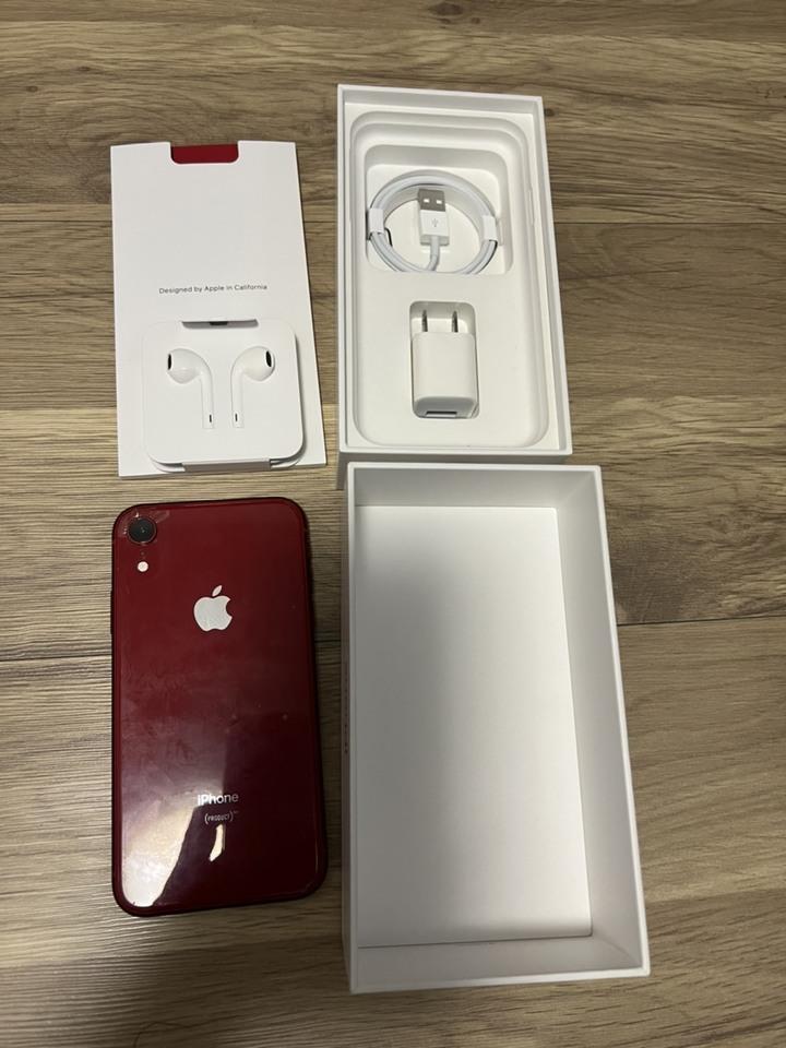 IPHONE XR 128G 紅色