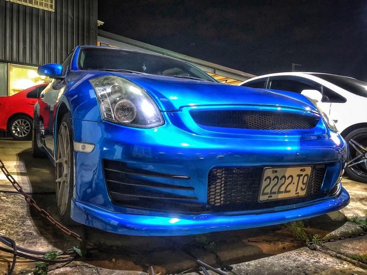 2013 Infiniti G37 藍