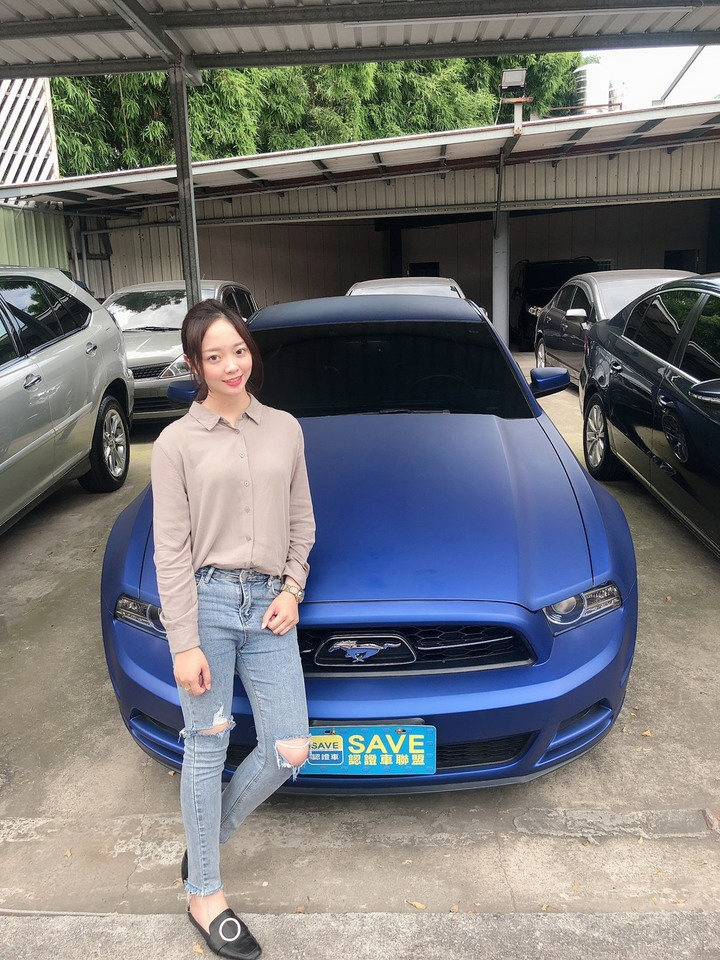 Ford Mustang 2012款 自排 3.7L 稀有消光藍 僅跑6萬 車況極佳 挑戰市場最低價!