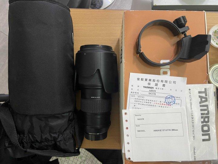 Tamron for Nikon SP AF70-200mm F2.8 公司貨